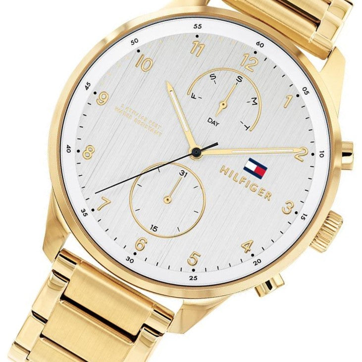 Tommy Hilfiger Gold Steel Men's Watch - 1791576