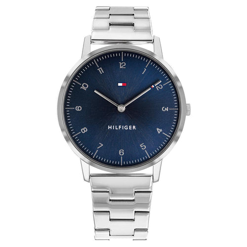Tommy Hilfiger Silver Steel Men's Slim Watch - 1791581