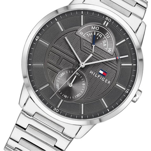 Tommy Hilfiger Multi-function Stainless Steel Men's Watch - 1791608