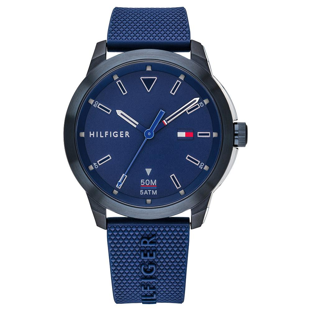 Tommy Hilfiger Sneaker Blue Silicone Men's Watch - 1791621