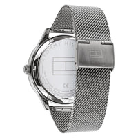 Tommy Hilfiger Spencer Silver Mesh Men's Automatic Watch - 1791643