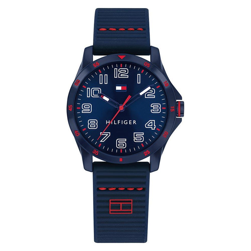 Tommy Hilfiger Kids Blue Silicone Watch - 1791667