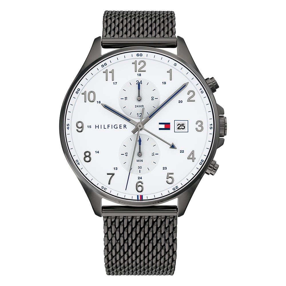 Tommy Hilfiger Grey Mesh Men's Multi-function Watch - 1791709