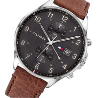 Tommy Hilfiger Brown Leather Men's Multi-function Watch - 1791710