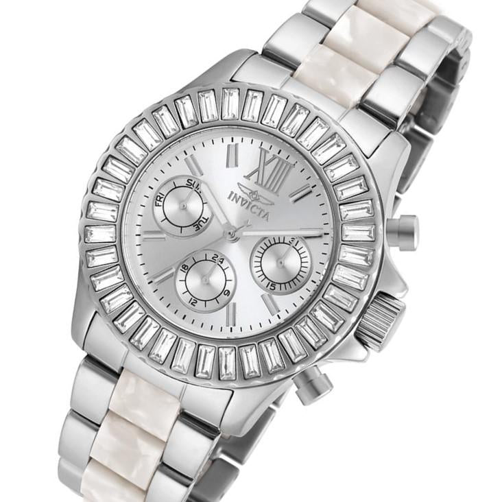 Invicta Angel 38 mm Silver Steel Women's Watch - 18867