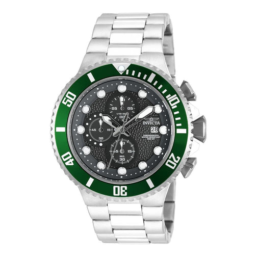 Invicta Pro Diver 50 mm Stainless Steel Chrono Men's Watch