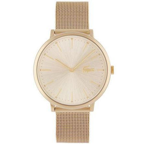 Lacoste The Moon Slim Gold Mesh Ladies Watch - 2001000-The Watch Factory Australia