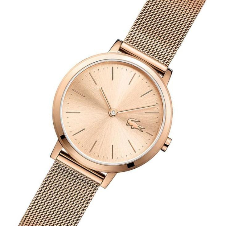 Lacoste Mini Moon Ultra Slim Gold Women's Watch - 2001051