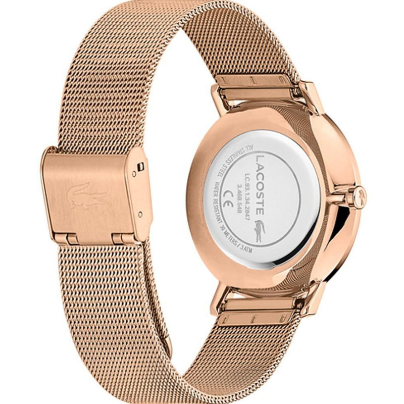 Lacoste Moon Rose Gold Steel Women's Watch - 2001080