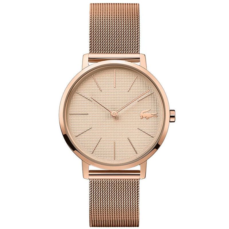 Lacoste - Moon Ionic Rose Gold Plated Steel Women's Watch - 2001080