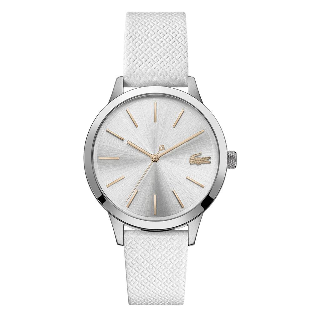 Lacoste Lacoste.12.12 White Leather Ladies Watch - 2001089