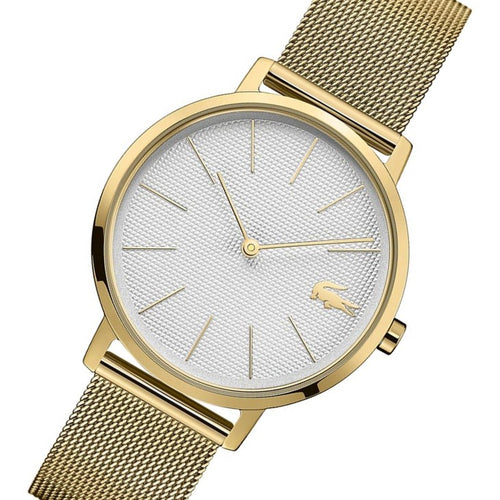 Lacoste Moon Gold Mesh Women's Watch - 2001107