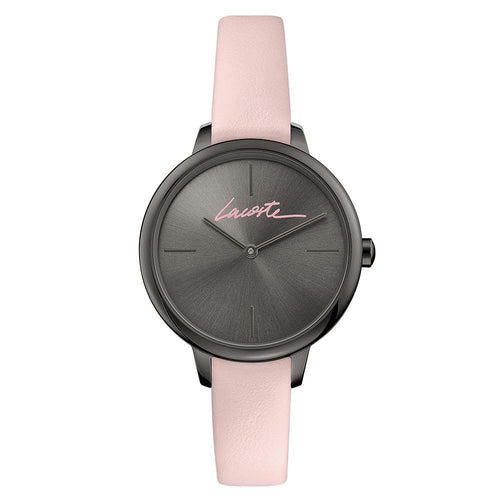 Lacoste Cannes Pink Leather Women's Watch - 2001125