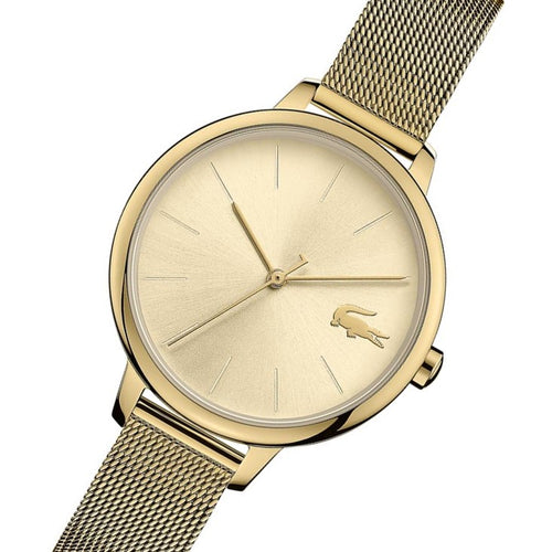Lacoste Cannes Gold Mesh Women's Watch - 2001128