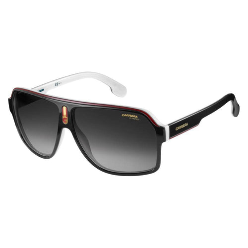 Carrera 1001/S - Black White - Dark Grey Shaded