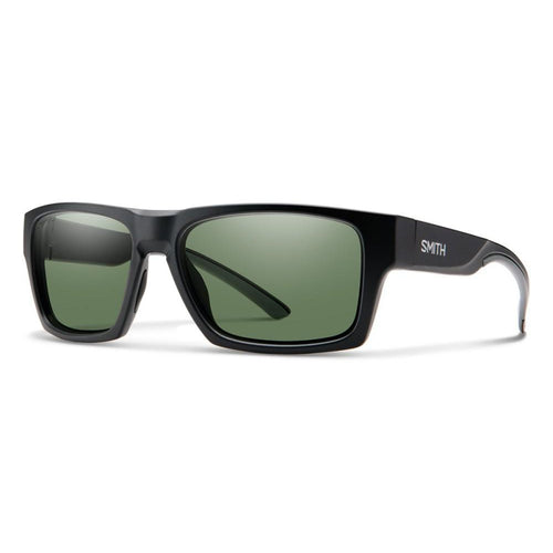Smith Outlier 2 - Matte Black - Green Polarized