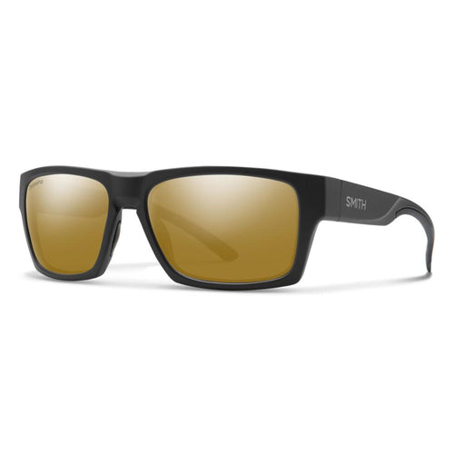 Smith Outlier 2 - Matte Black Silver - Bronze Mirror Polarized