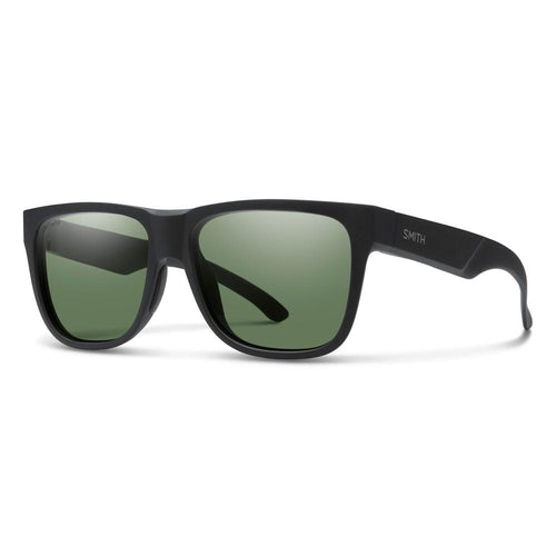 Smith Lowdown 2 - Matte Black - Green Polarized