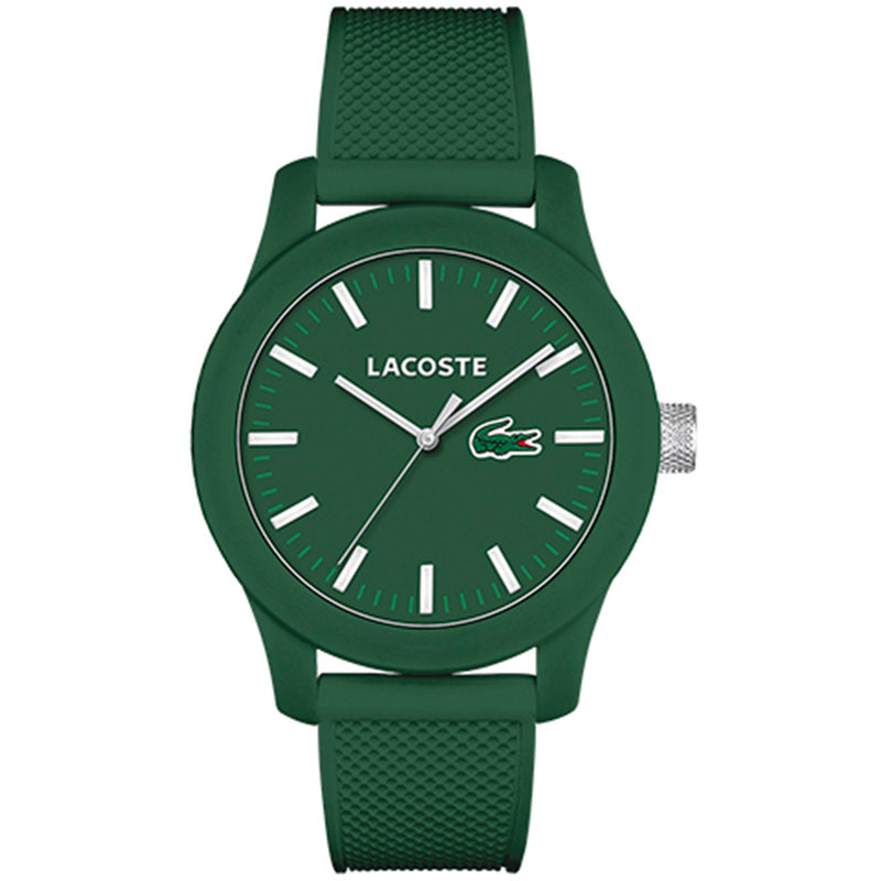 Lacoste. The 12.12 Men's Green Silicone Watch - 2010763
