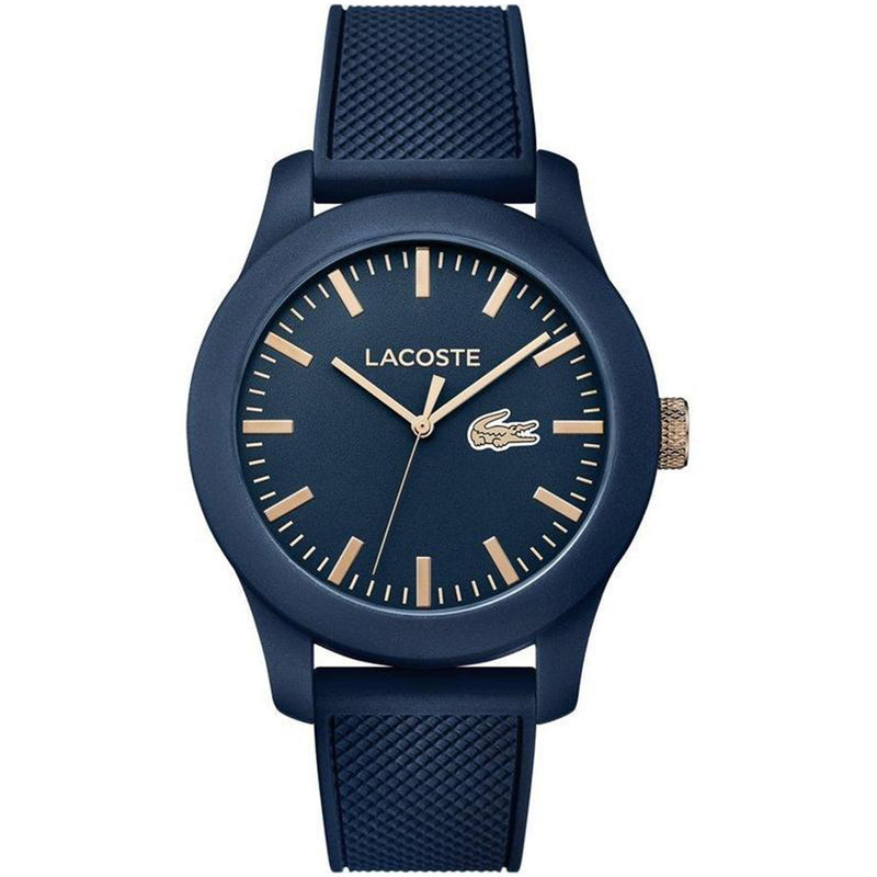 Lacoste The .12.12 Men's Navy Silicone Watch - 2010817