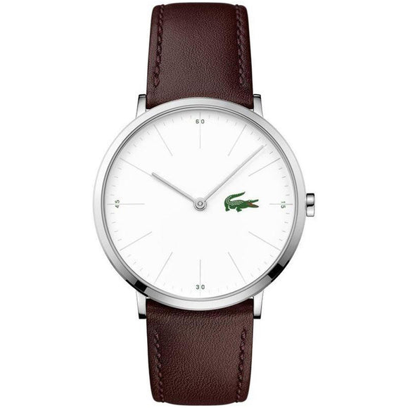 Lacoste Moon Brown Leather Mens Watch - 2010872