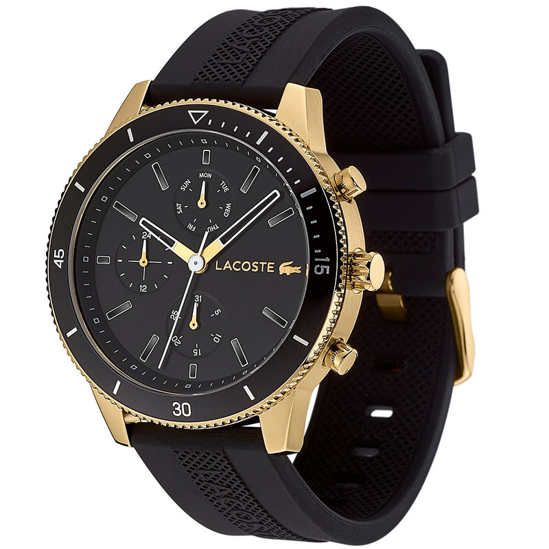 Lacoste Key West Black Silicone Men's Watch - 2010994