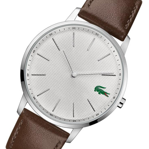 Lacoste Moon Brown Leather Men's Watch - 2011002