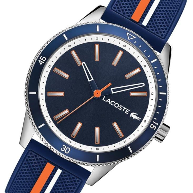 Lacoste Key West Multi-Color Silicone Men's Watch - 2011007