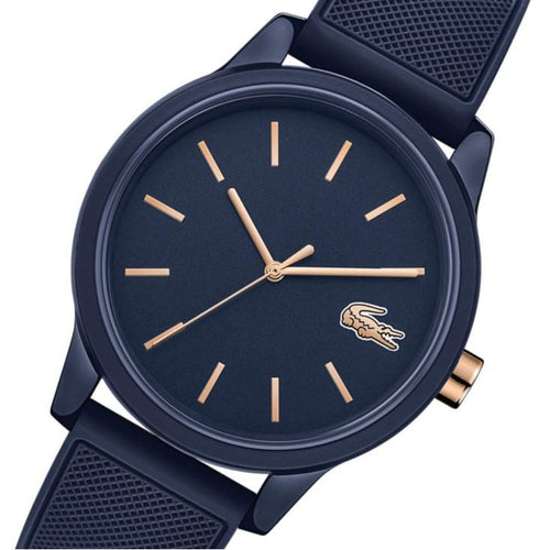 Lacoste 12.12 Blue Silicone Men's  Watch - 2011011