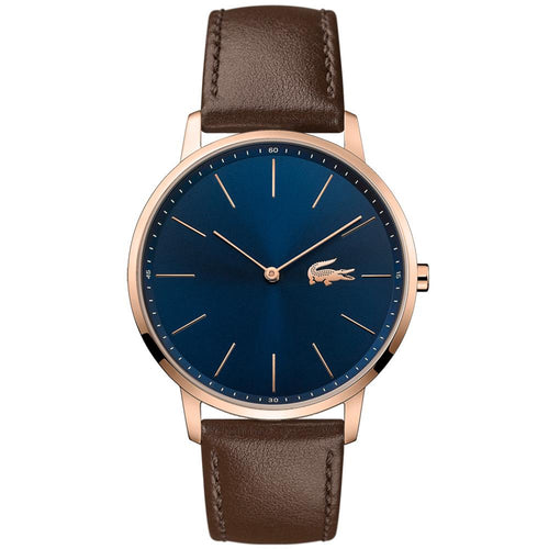 Lacoste - Moon Brown Leather Men's Watch - 2011018