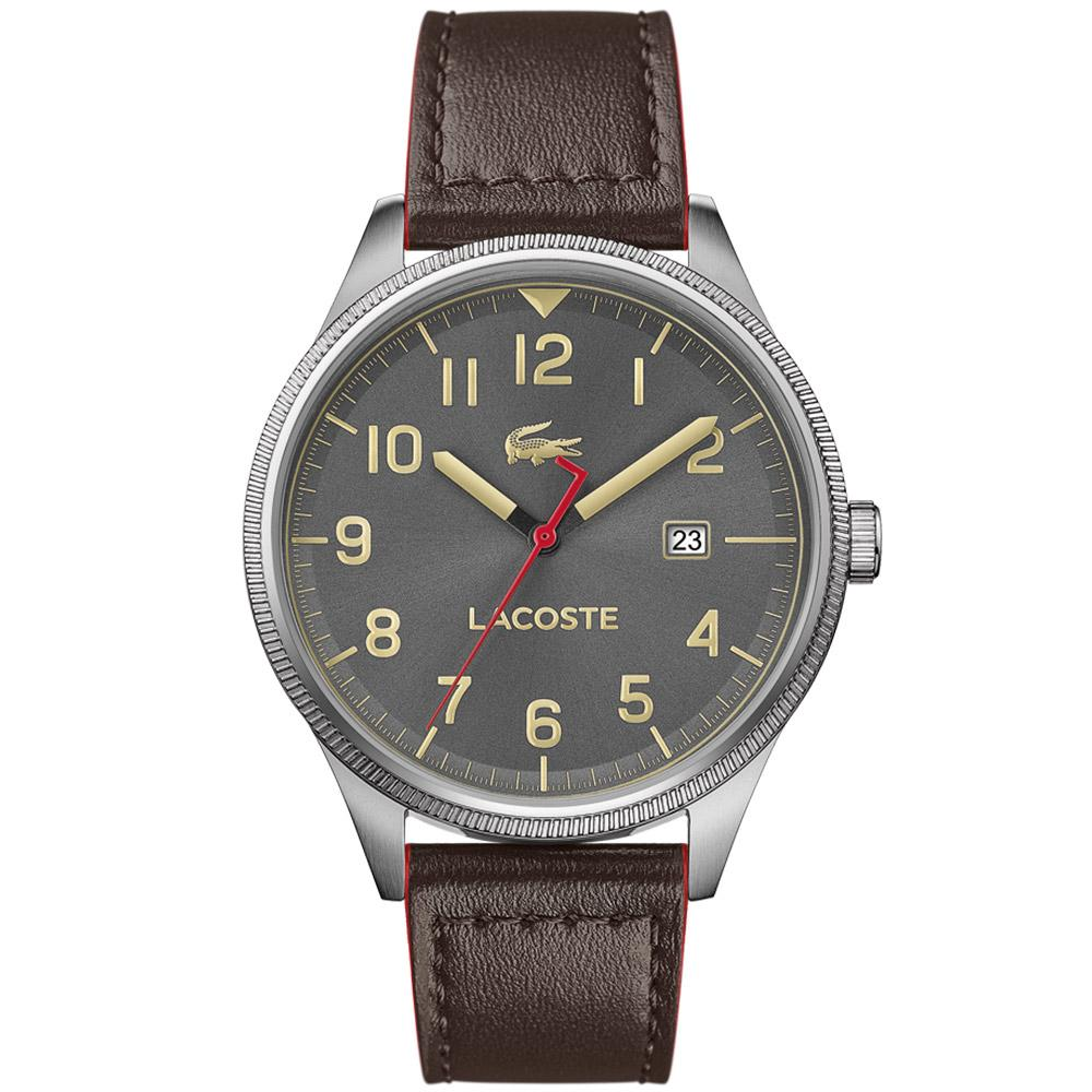 Lacoste Continental Brown Leather Men's  Watch - 2011020