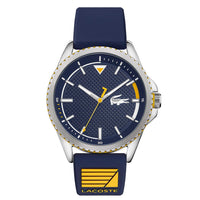 Lacoste Nautical Blue Silicone Men's Watch - 2011027