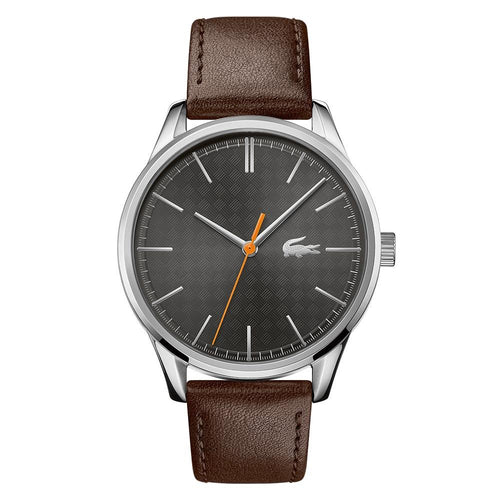 Lacoste Vienna Brown Leather Men's Watch - 2011045