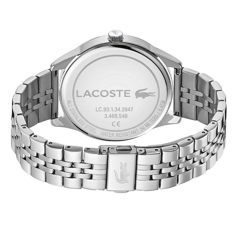 Lacoste Vienna Silver Steel Men's Watch - 2011049