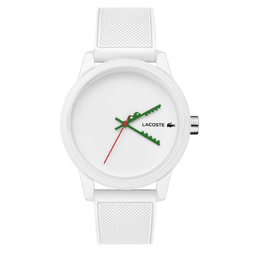 Lacoste.12.12 White Silicone Men's Watch - 2011069