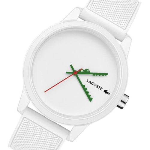Lacoste .12.12 White Silicone Men's Watch - 2011069