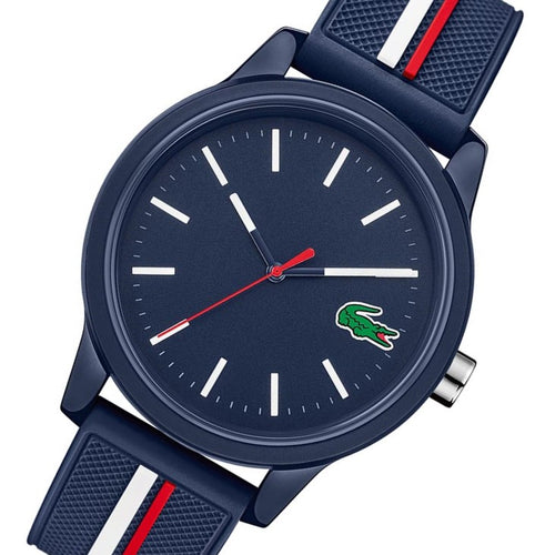 Lacoste 12.12 Navy Blue Silicone Men's Watch - 2011070