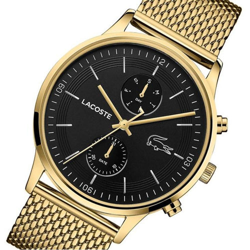 Lacoste Madrid Gold Mesh Men's Multi-function Watch - 2011098
