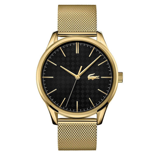 Lacoste Vienna Gold Mesh Steel Men's Watch - 2011104
