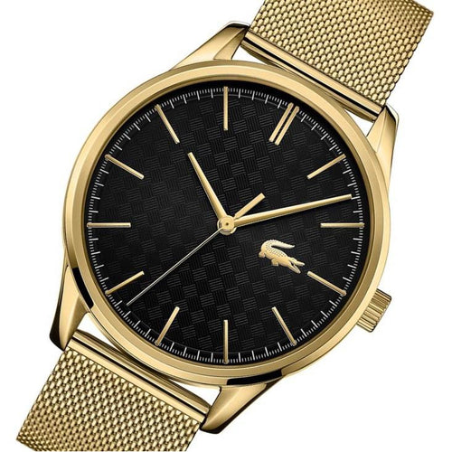 Lacoste Vienna Gold Mesh Men's Watch - 2011104