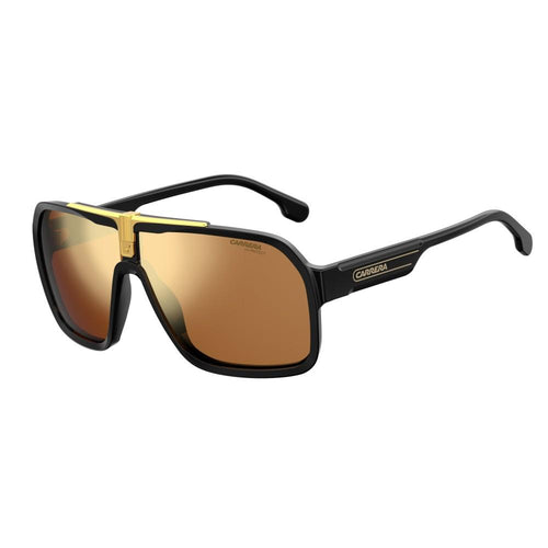 Carrera 1014/S - Matt Black Gold - Gold Mirror