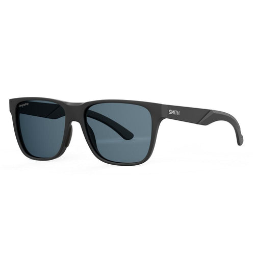 Smith Lowdown Steel - Matte Black - Grey Polarized