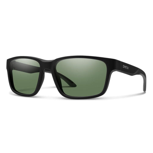 Smith Basecamp - Matte Black - Green Polarized