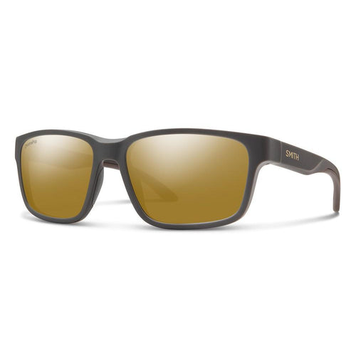 Smith Basecamp - Matte Grey - Bronze Mirror Polarized
