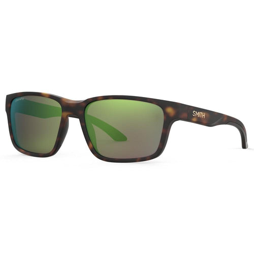 Smith Basecamp - Matte Havana - Green Mirror Polarized