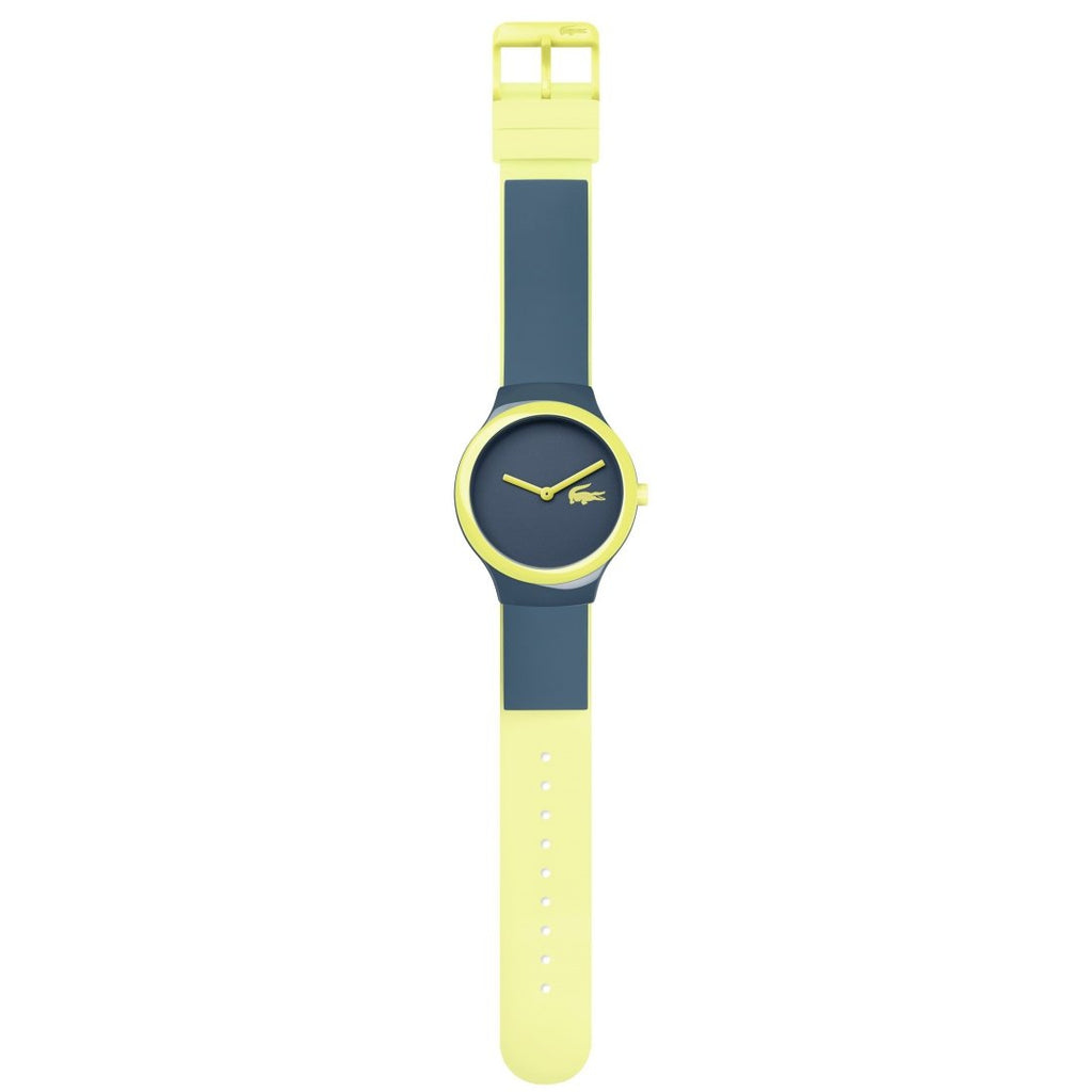 Lacoste The Goa Yellow & Gray Silicone Watch - 2020121