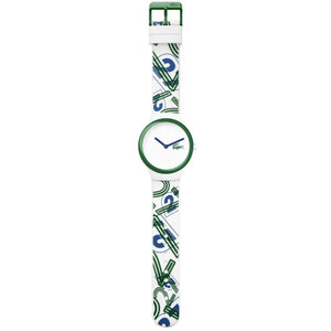 Lacoste The Goa - White & Green Silicone Watch - 2020126