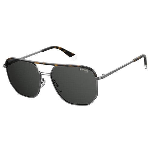 Polaroid Pld 2090/S/X - Ruthenium Havana - Grey Polarized