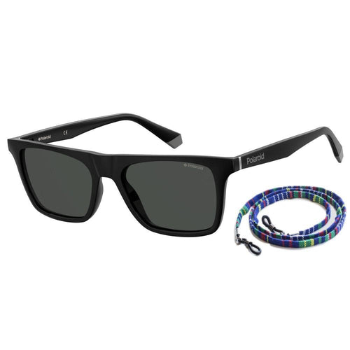 Polaroid Pld 6110/S - Black - Grey Polarized