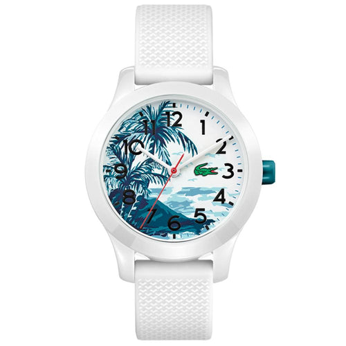 Lacoste 12.12 White Silicone Kids Watch - 2030017
